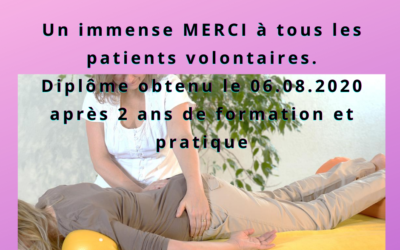 Volontaires pour séances d'Ortho-Bionomy® à Lausanne